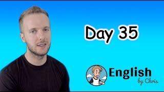★Day 35 》ภาษาอังกฤษ 365 วัน โดย English by Chris
