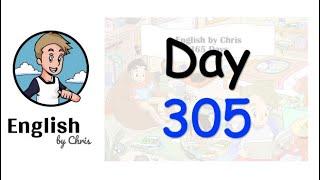 ★ Day 305 - 365 วัน ภาษาอังกฤษ ✦ โดย English by Chris