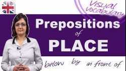 Prepositions of Place - Visual Vocabulary Lesson