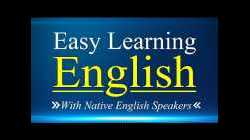 Easy Learning English Conversation Practice - Listening English Lessons with Native English Speakers