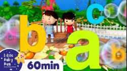 ABC Bubbles Song +More Nursery Rhymes and Kids Songs   Little Baby Bum