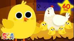 Five Little Chicks   + More Kids Songs   Super Simple Songs