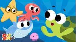 Down In The Deep Blue Sea | Kids Songs | Super Simple Songs