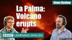 La Palma: Volcano erupts - BBC News Review