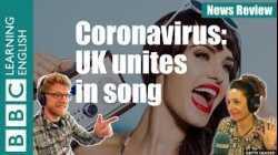 Coronavirus: UK unites in song - News Review