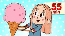 The Ice Cream Song | + More Kids Songs | Super Simple Songs