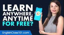 Want to Learn English Anywhere, Anytime on Your Mobile and For FREE?