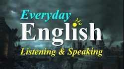 Everyday English Listening + Speaking   Listen & Speak English Like a Native   English Conversation