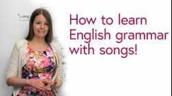 How to use songs to learn English