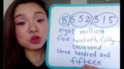 เรียนคลาสสด อ่านตัวเลขหลัก หน่วย สิบ ร้อย พัน หมื่น แสน ล้าน เป็นภาษาอังกฤษ