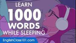 English Conversation: Learn while you Sleep with 1000 words
