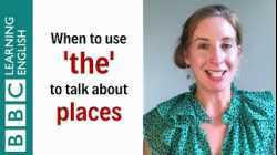 When to use 'the' to talk about places - English In A Minute