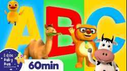 ABC Phonics Animals Song   +More Nursery Rhymes and Kids Songs   ABC and 123   Little Baby Bum