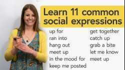 Easy English Conversation: 11 Common Social Expressions