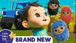 Baa Baa Black Sheep - Popular Baby Songs   Brand New Nursery Rhymes   ABC & 123   Little Baby Bum