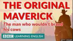 The Man Who Wouldn't Brand His Cows   A History of the English Word 'Maverick'