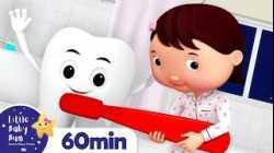 Brush Teeth Song +More Nursery Rhymes and Kids Songs   Little Baby Bum