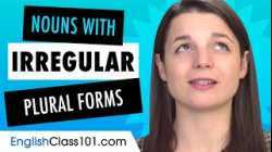 10 Countable Nouns with Irregular Plural Forms