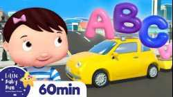 ABC Vehicles Song   +More Nursery Rhymes and Kids Songs   ABC and 123   Little Baby Bum
