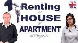 Renting a House or Apartment in English - Vocabulary and Conversation