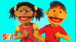 What's Your Name? (Super Simple Puppets version) | Super Simple Songs